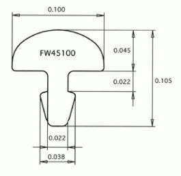 Fret Wire Jescar Fw45100 Nis 18